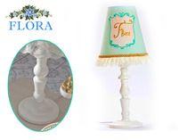 Фото-1 Настольная лампа Flora Cilek AKS-6333