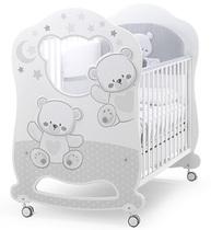 Фото-1 Детская кровать Italbaby Jolie Oblo белый/серый