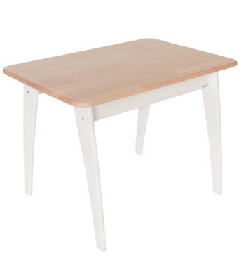 Фото-1 Детский игровой стол Geuther Bambino белый/натуральный