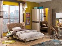 Фото-1 Мебель для подростка мальчика Cilek Lofter