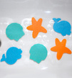 Фото-2 Мини-коврики Clippasafe против скольжения для ванной
