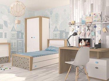 Фото-1 Детская мебель MIX ABC-King для девочки и мальчика