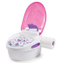 Фото-1 Горшок 3 в 1 Summer Infant Step-By-Step Potty розовый