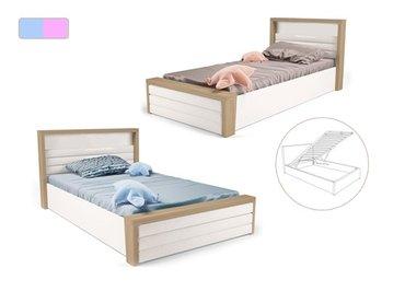 Фото-1 Мягкая кровать MIX ABC-King №6 с подъемным механизмом
