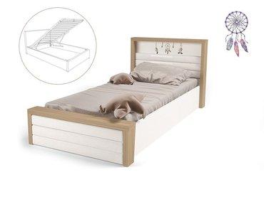 Фото-1 Мягкая кровать Ловец снов MIX №6 с подъемным механизмом