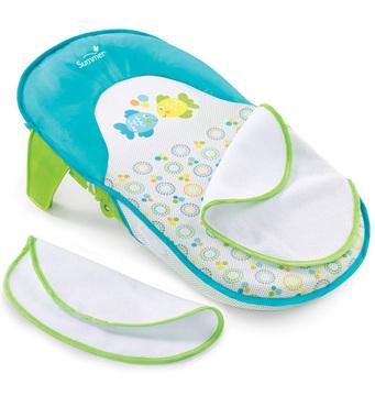 Фото-1 Складной лежак для купания Summer Infant Bath Sling бирюзовый