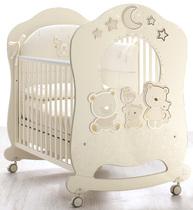 Фото-1 Детская кровать Italbaby Happy Family Oblo крем