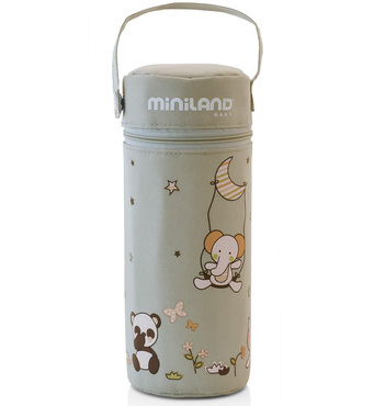 Фото-1 Термосумка Miniland Thermibag Soft бежевая 330 мл