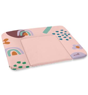 Фото-1 Накладка для пеленания Geuther розовая с цветами, 85х72 см
