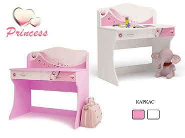 Фото-1 Письменный стол Принцесса Адвеста (Princess Advesta)