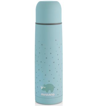 Фото-1 Термос для жидкостей Miniland Silky Thermos голубой, 500 мл