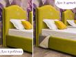 Фото-3 Детская кровать с вышивкой ИМЕНИ и мягкой спинкой Art-E
