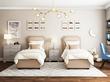 Фото-2 Подростковая кровать с мягкой спинкой Мечта Grigio