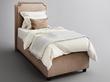 Фото-5 Подростковая кровать с мягкой спинкой Мечта Grigio
