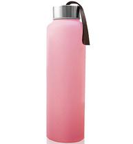 Фото-1 Бутылка EveryDay Baby для воды с силиконовым покрытием 400 мм розовая