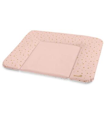 Фото-1 Накладка для пеленания Geuther розовая со звездами, 85х72 см