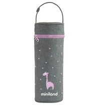 Фото-1 Термосумка Miniland для Silky Thermos розовый, 350мл