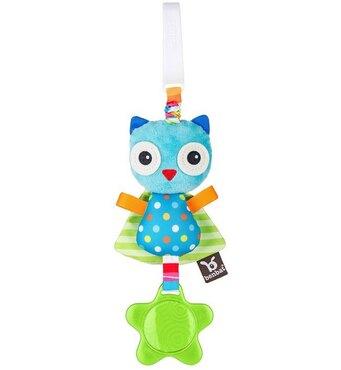 Фото-1 Подвесная игрушка-попрыгунчик Benbat Jitter сова