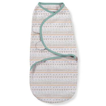 Фото-1 Конверт для пеленания на липучке SwaddleMe Aztec Shapes (орнамент), размер L