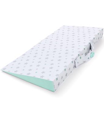Фото-1 Подматрасная подушка-позиционер для сна Summer Infant Good Vibes белая со звездами