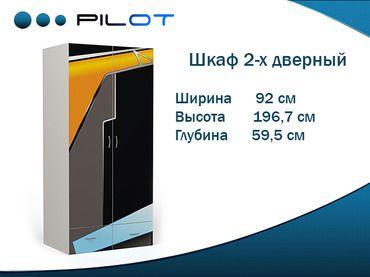 Фото-1 Двухдверный шкаф Пилот Адвеста (Pilot Advesta)