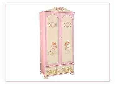 Фото-1 Шкаф двухстворчатый Маленькая принцесса