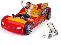 Фото-1 Advesta Кровать машина детская Champion красная