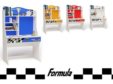 Фото-1 Стол с надстройкой Formula