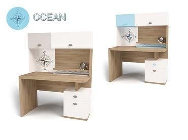 Фото-1 Стол с полкой Ocean MIX детский