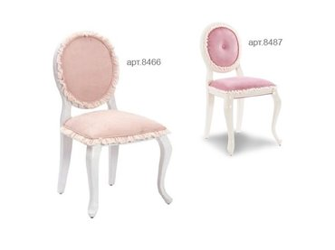 Фото-1 Стул Romantic Cilek арт.8466, 8487 розовый