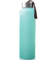 Фото-1 Бутылка EveryDay Baby для воды с силиконовым покрытием 400 мм мятная