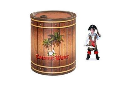 Фото-1 Тумба прикроватная Black Pirate Gallon арт.1603