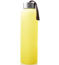 Фото-1 Бутылка EveryDay Baby для воды с силиконовым покрытием 400 мм желтая