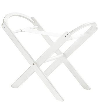 Фото-1 Деревянная складная подставка Italbaby для люльки, колыбели белая