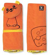 Фото-1 Накладки на ремни Benbat Travel Friends для детей от 1 до 4 лет мышка