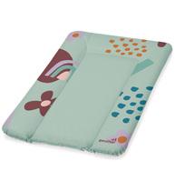 Фото-1 Накладка для пеленания Geuther зеленый с цветами, 50х70 см