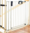 Фото-3 Ворота безопасности Geuther EasyLock Plus 84,5-92,5 см с креплением к лестнице (4793+) белые