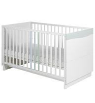 Фото-1 Детская кровать Geuther Wave белая/пастель