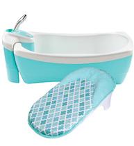 Фото-1 Детская ванна - джакузи с душем Lil' Luxuries бирюзовая