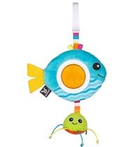 Фото-1 Игрушка-погремушка Benbat Rattle рыба
