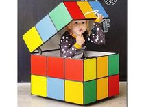 Фото-1 Ящик Кубик Рубика для игрушек