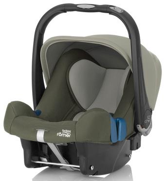 Фото-1 Детское автокресло Britax Roemer Baby-Safe plus SHR II (группа 0+, до 13 кг) Olive Green