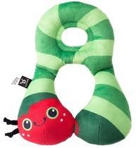 Фото-1 Дорожная подушка Benbat Travel Friends для детей от 1 до 4 лет гусеница