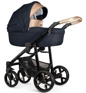 Фото-1 Детская коляска 2 в 1 Venicci Lanco Navy Blue