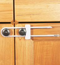 Фото-1 Защитный замок для створчатой двери Clippasafe CL72