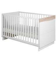 Фото-1 Детская кровать Geuther Wave белая/бук