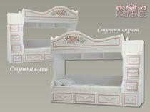 Фото-1 Двухъярусная кровать Прованс P-05 Милароса (Provence Milarosa)