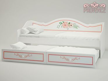 Фото-1 Кровать-диван с выдвижным ящиком Прованс P-41 Милароса (Provence Milarosa)