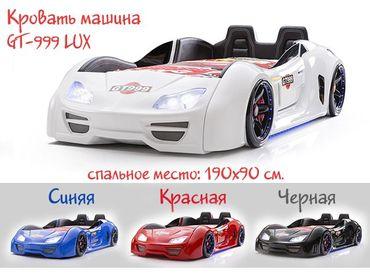 Фото-1 Кровать машина GT-999 LUX с ОТКРЫВАЮЩИМИСЯ ДВЕРЯМИ