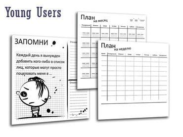 Фото-1 Накладки Календари для фасадов VOX Young Users